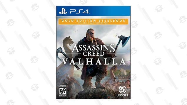 assassins creed valhalla ultimate edition steelbook