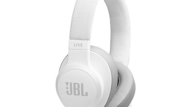 Casque circum-aural sans fil JBL LIVE 500BT avec commande vocale (blanc)