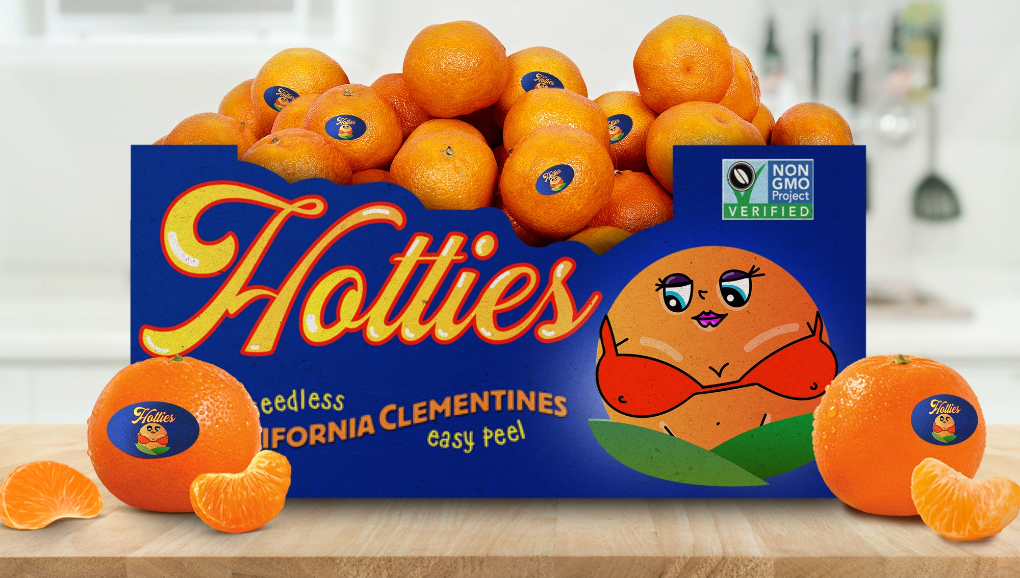 Sun Pacific Unveils New 'Hotties' Variety Of Voluptuous, Shapely Clementines