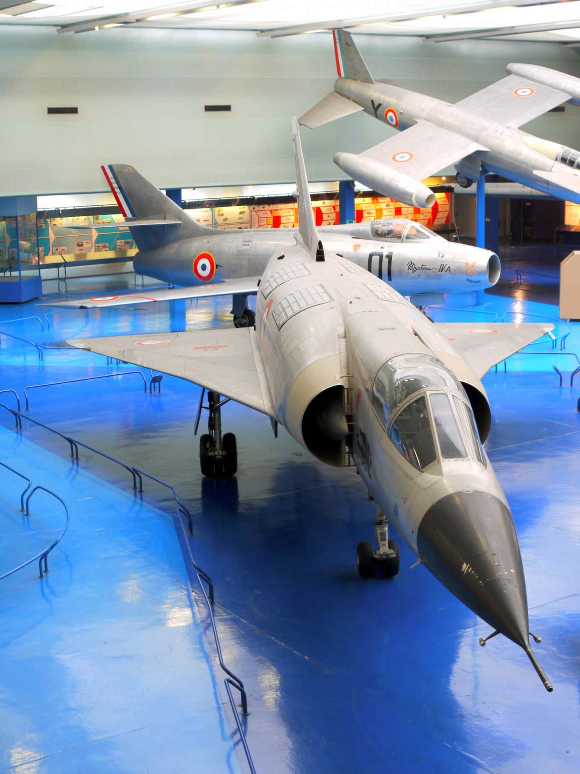 Mirage IIIV Prototype V 01 on display