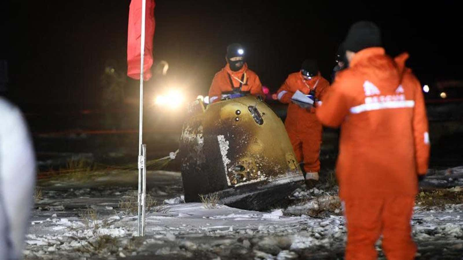 Lunar Samples Land on Earth, Completing China's Most Challenging 'Space Adventure'