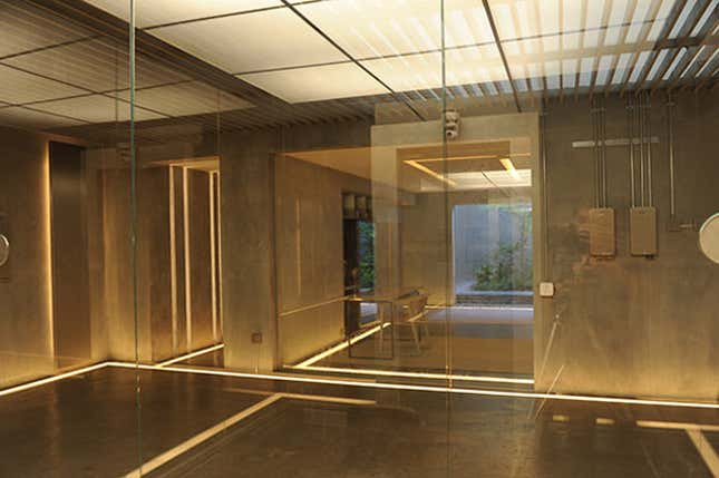 Interioarele si arhitectura din filmul ex-Machina