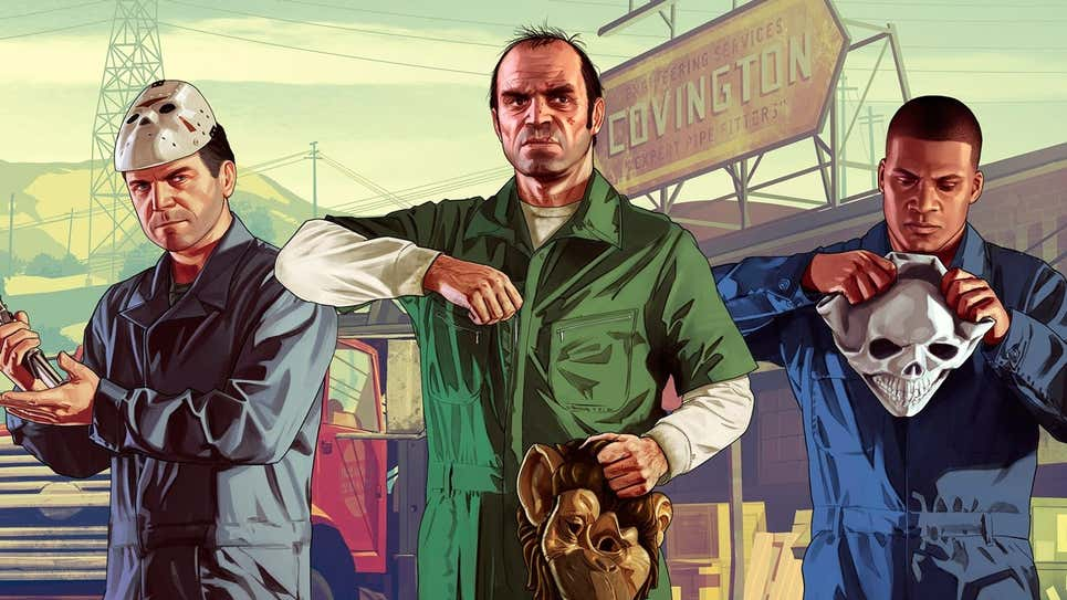 GTA V and GTA Online coming to PS5 and Xbox Series X in November