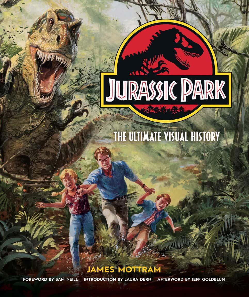 Jurassic Park: The Ultimate Visual History announced 57239eb513748f33034c0c415b735a4a