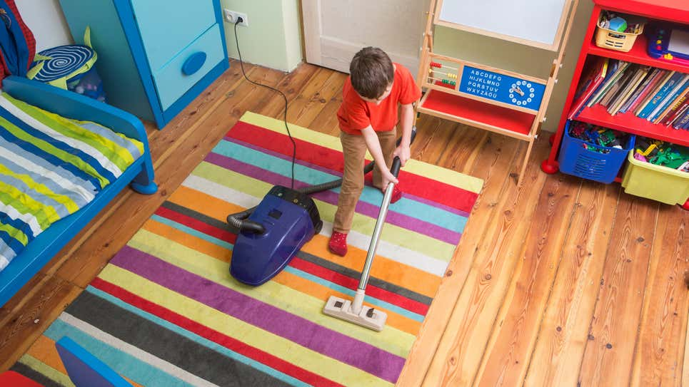 An Age-By-Age Guide to Kids' Chores