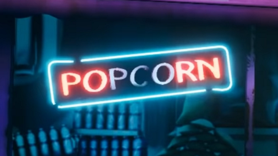 Palabra PORN en las luces de Neon, King of Fighters XV, GamersRD