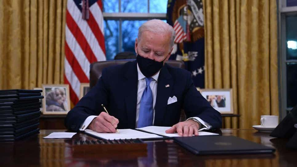 How Will Biden's Executive Orders Affect Your Debt?