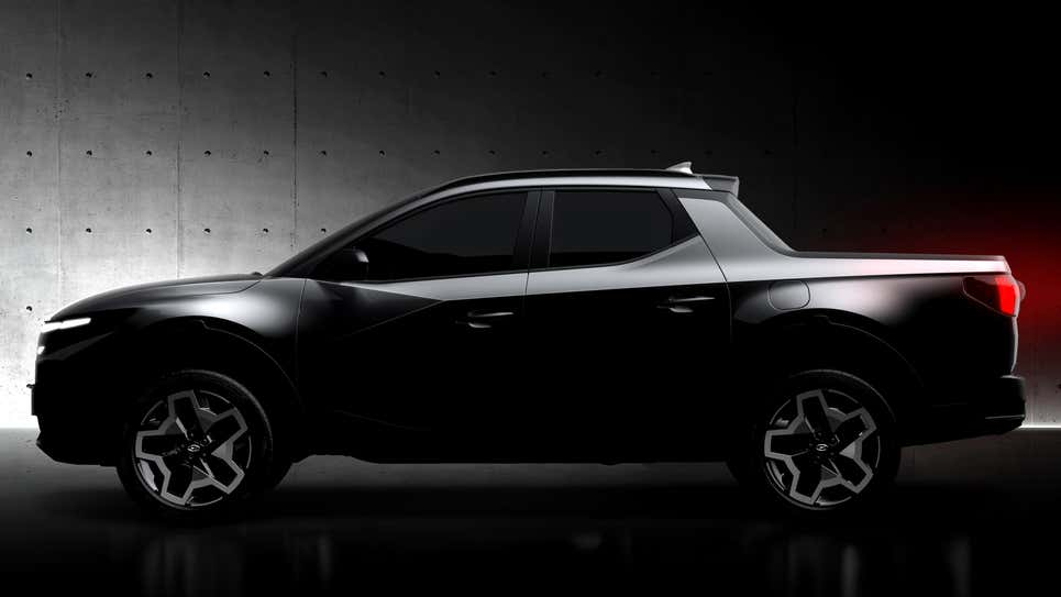 Hyundai Santa Cruz 2022 года, он реален !