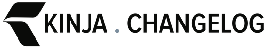 Kinja Changelog logo