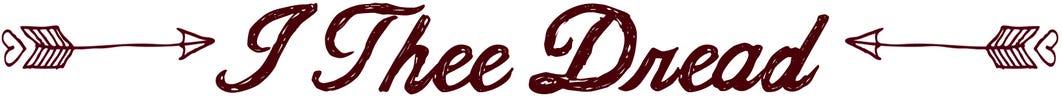 I Thee Dread logo
