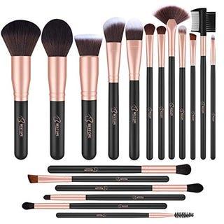 26% OFF on BESTOPE Makeup Brushes 18 PCs Makeup Brush Set with Coupon Code: EOWASGOS
