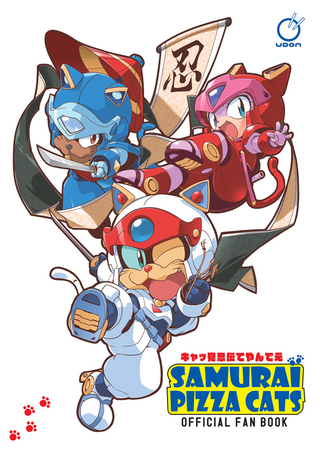 Illustration for article titled The iSamurai Pizza Cats Official Fanbook/i Explores The Series Japanese Rootsem/em