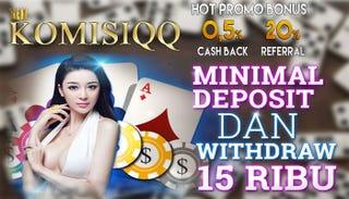 Illustration for article titled KomisiQQ Agen Poker Online Terpercaya Di Indonesia