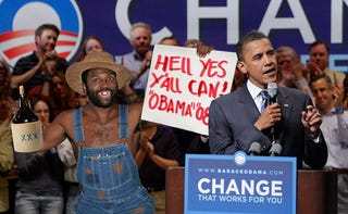 Obama's Hillbilly Half-Brother Threatening To Derail Campaign