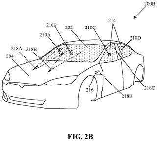 Illustration for article titled Tesla patenta un sistema de rayos láser para limpiar el parabrisas