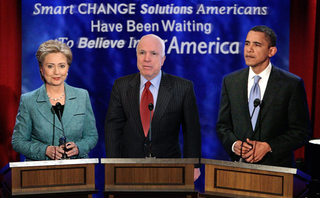 Obama, Clinton, McCain Join Forces To Form Nightmare Ticket