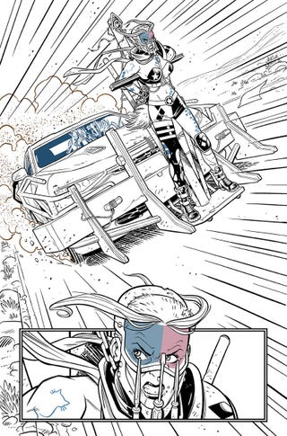 A preview of Harley Quinn #42