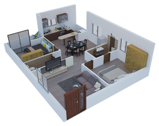 Illustration for article titled Flats for sale in Raipur   2 bhk flats in Raipur