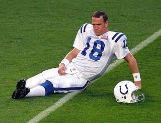 Peyton Manning Shows Up Five Months Early For Training Camp