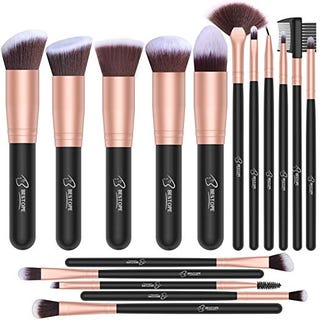 Extra $4 Off on BESTOPE 16 PCs Makeup Brush Set with coupon code: AZSZT5BJ