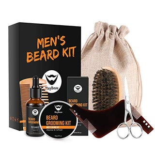 Just$11.99 for MayBeau Beard Kit for Men 7 in 1 Beard Growth Grooming & Trimming with Beard Shaper Code: 2KQJWUMO ($4 OFF+5% coupon)