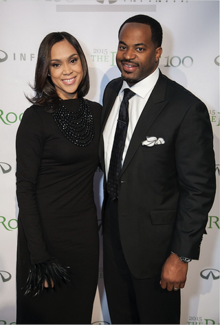Marilyn and Nick Mosby in 2015 (The Root)