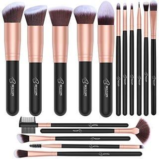 Illustration for article titled Just $4.89 for BESTOPE 16 PCs Makeup Brushes Set