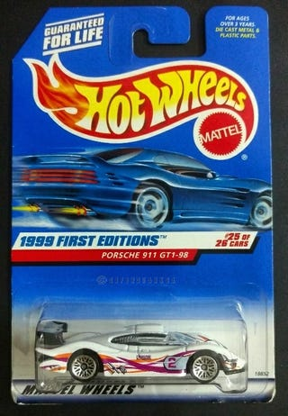 911 GT1-98 (Hotwheels First Editions Series from 1999)