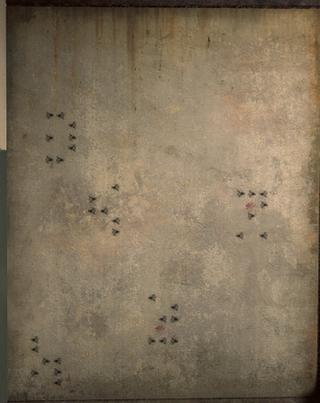 Strange symbols found in a bathroom in Fort Vaux