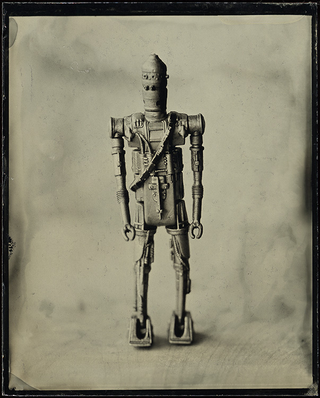 Illustration for article titled These Tintype Photos of iStar Wars/i Toys em/emWill Make You Nostalgic on Multiple Levels