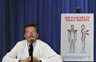 Plastic Surgeon General Warns Of Small Breasts Epidemic