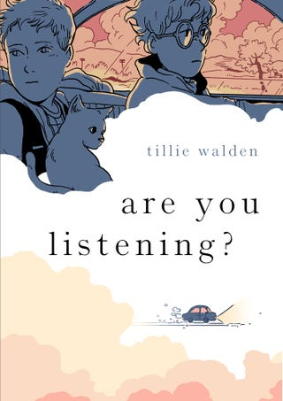 Illustration for article titled Tillie Walden tackles trauma and survival in the poetic, poignant emAre You Listening?/em