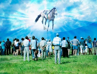 Ghost Of Barbaro Appears To Teach Nation True Meaning Of Barbaro Day