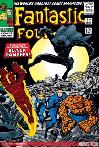 Black Panther's first appearance, Fantastic Four (1961) #52