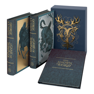 Illustration for article titled Folio Society Is Doing Special Editions for All of iA Song of Ice and Fire.../iIf Its Ever Finished