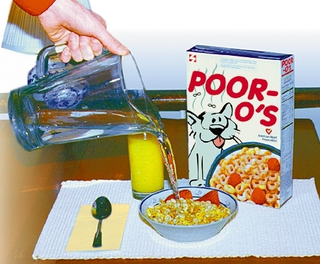 New Cereal For Poor Stays Crunchy In Water
