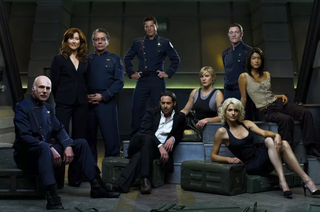 Watch Battlestar Galactica: Syfy has made seasons 1-4 of Battlestar Galactica free to stream on its site. All of the episodes are free to watch without a cable login, as are the movies and the mini-series. Be forewarned: they're all ad-supported, so be prepared to have your viewing interrupted for a few ads along the way.