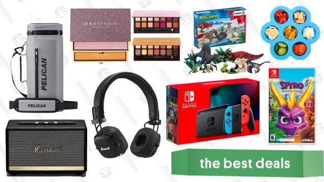 Wednesday s Best Deals: Nintendo Switch Bundles, Travel Deals, Sony Sound Barand More