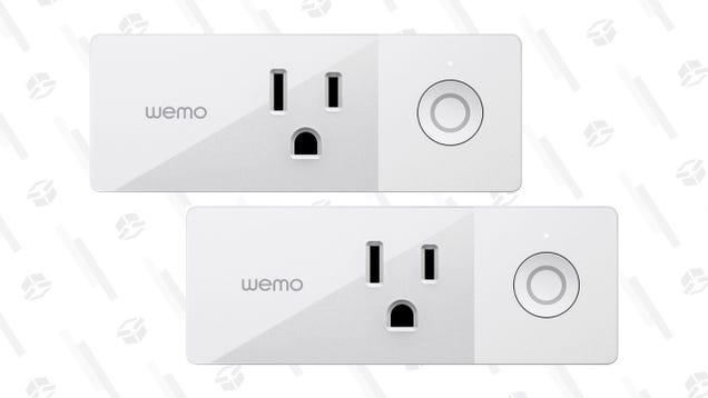 Automate Your Outlets With a Pair of Wemo Smart Plugs For a Low $20