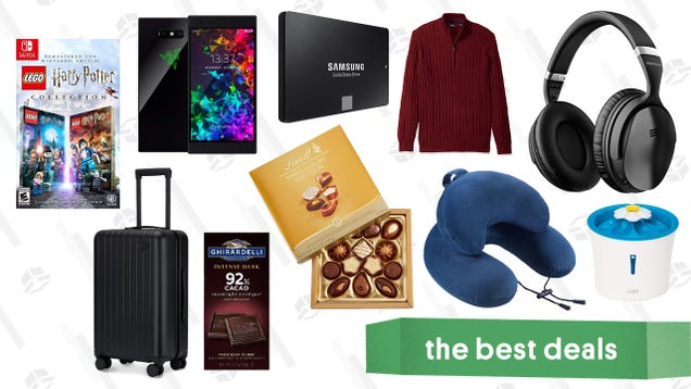 Monday s Best Deals: Early Black Friday Sales, IZOD Gold Box, Razer Phones, and More