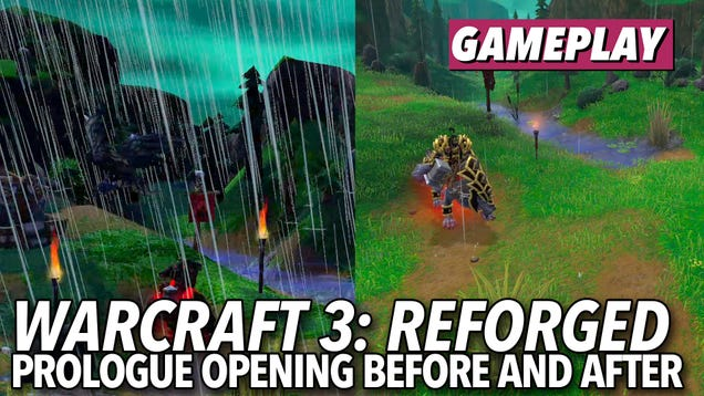 Warcraft 3 Reforged Isn T Much Of An Upgrade