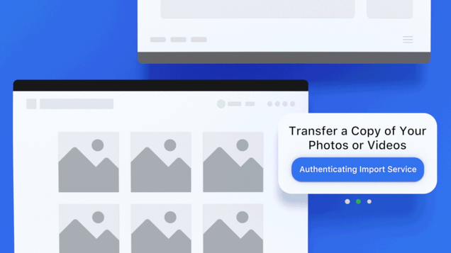 Wait for Facebook's Transfer Tool to Move Your Photos