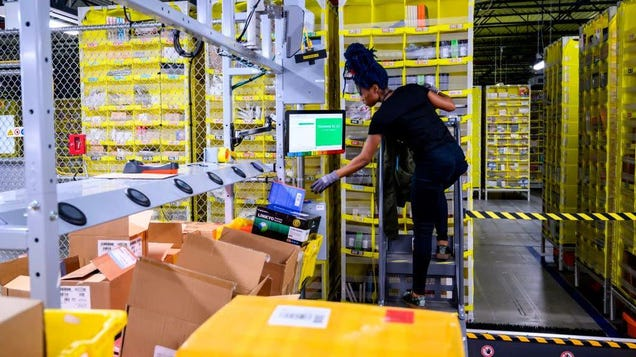 Exclusive: Amazon s Own Numbers Reveal Staggering Injury Rates at Staten Island Warehouse