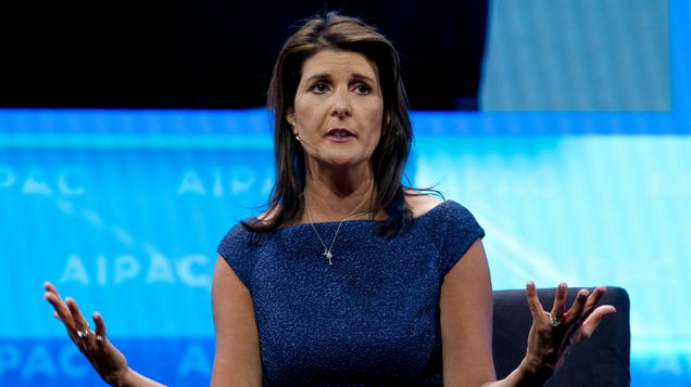 Report: Nikki Haley Used Unclassified Email System During North Korean ICBM Crisis Because She Forgot Her Password