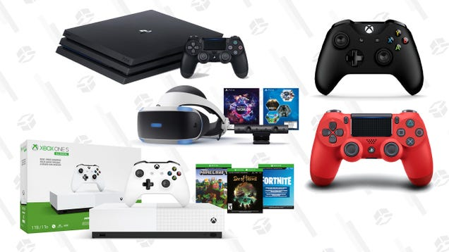 Walmart and Best Buy Are Already Discounting PS4 and Xbox One Consoles Ahead of Black Friday