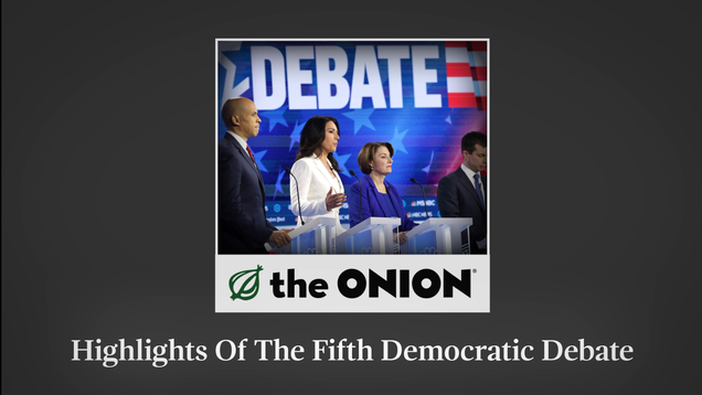 Highlights Of The Fifth Democratic Debate