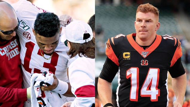 Bengals Assure Injury Prone Tua Tagovailoa He Can Have Any Of Andy Dalton's Organs