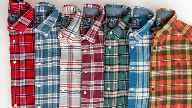 Double Up On Flannel During This Jachs s Sale and Get Two Flannels For $69