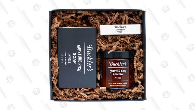 Save Your Skin With This Discount on Buckler's Skin Rescue Essentials Kit at Huckberry