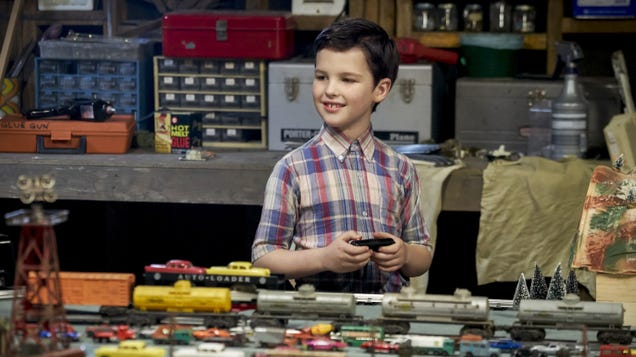 If you've ever wanted to see Young Sheldon arrested, well, you're in luck